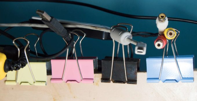 Floor Cable Tidy to keep your cables organized